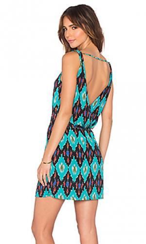 Платье-футляр anita Vix Swimwear. Цвет: бирюзовый