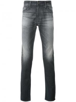 Джинсы скинни Stockton Ag Jeans. Цвет: серый