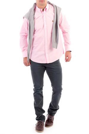 Рубашка POLO CLUB С.H.A.. Цвет: розовый
