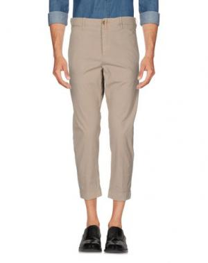 Повседневные брюки RE.BELL. Цвет: голубиный серый