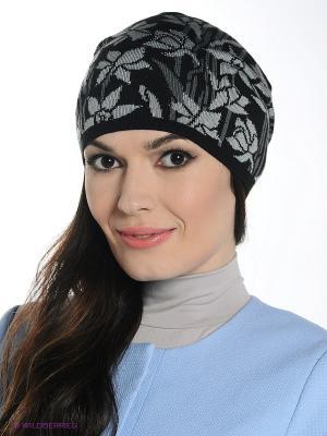Шапка Ваша Шляпка. Цвет: черный, серый