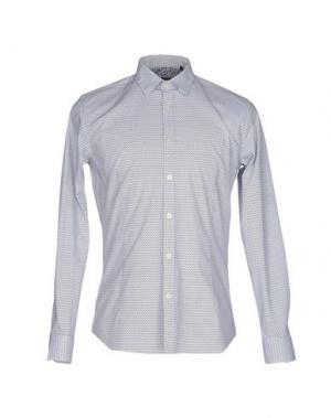Pубашка DAVID NAMAN. Цвет: белый