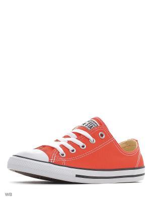 Кеды Chuck Taylor All Star Dainty Converse. Цвет: коралловый, оранжевый