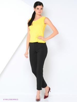 Блузка KEY FASHION. Цвет: желтый