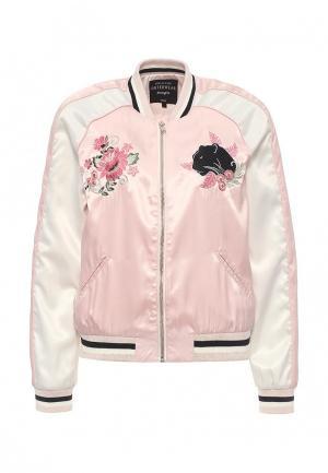 Куртка Jennyfer. Цвет: розовый