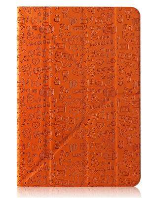 Чехол, Life is универсальный для планшета 8 CANYON. Цвет: оранжевый