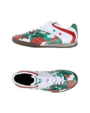 Низкие кеды и кроссовки PANTOFOLA D'ORO. Цвет: зеленый