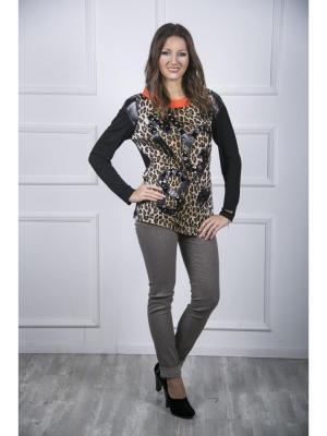 Блузка Maria Grazia Severi. Цвет: бежевый