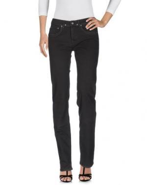 Джинсовые брюки WOOLRICH. Цвет: стальной серый
