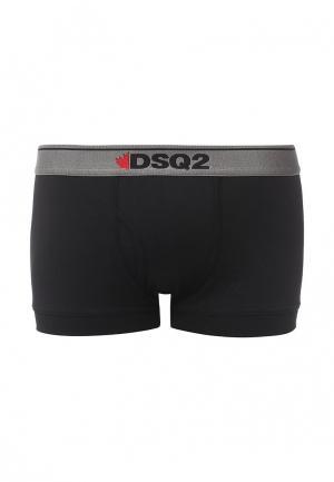 Трусы Dsquared Underwear. Цвет: черный