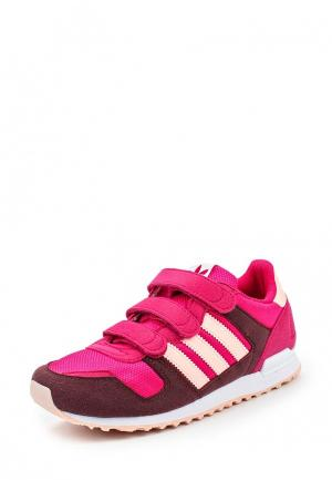 Кроссовки adidas Originals. Цвет: фуксия