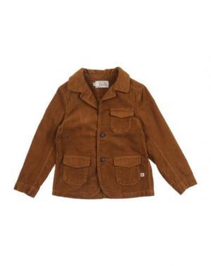 Пиджак SUN CHILD. Цвет: коричневый