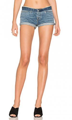 Короткие обрезанные шорты NSF. Цвет: none