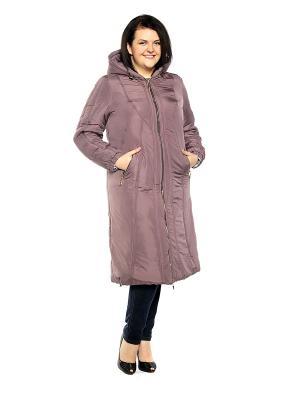 Пальто Pretty Woman. Цвет: лиловый