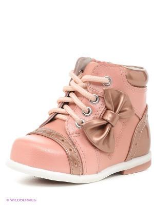 Ботинки Flamingo. Цвет: персиковый