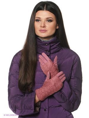 Перчатки Sabellino. Цвет: коралловый
