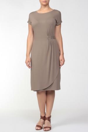 Платье HEY. Цвет: какао