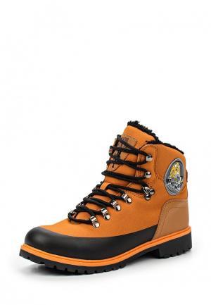 Ботинки Kakadu. Цвет: оранжевый