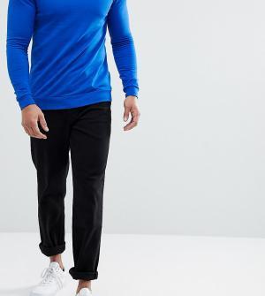ASOS Черные расклешенные джинсы TALL. Цвет: черный