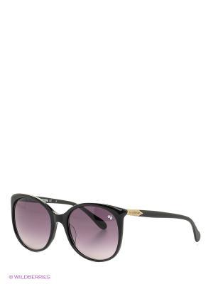 Солнцезащитные очки LM 535S 01 La Martina. Цвет: черный