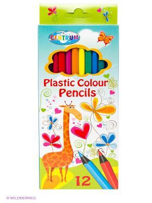 Набор цветных карандашей, 12 цветов Giraffe Centrum. Цвет: синий