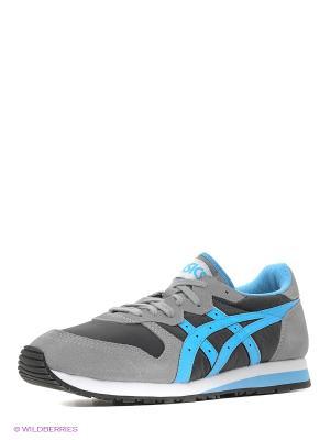 Спортивная обувь ASICSTIGER. Цвет: серый, голубой