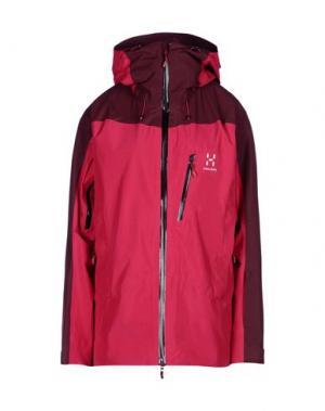 Куртка HAGLÖFS. Цвет: пурпурный