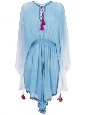 Платье-туника Seema Talitha. Цвет: синий
