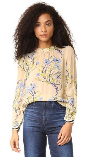 Блуза Cecilia Warm. Цвет: кость