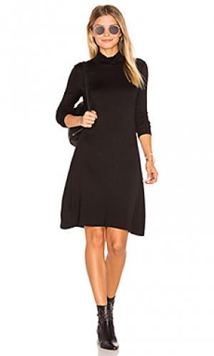 Платье vail De Lacy. Цвет: черный