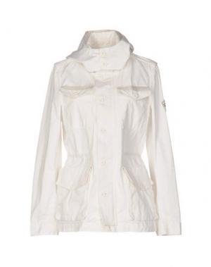 Куртка FAIRLY. Цвет: белый
