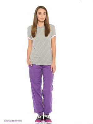 Спортивные брюки CHAMPION. Цвет: фиолетовый