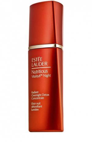 Ночной очищающий концентрат, придающий сияние коже Estée Lauder. Цвет: бесцветный