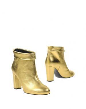 Полусапоги и высокие ботинки PHILOSOPHY DI LORENZO SERAFINI. Цвет: золотистый