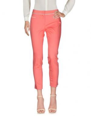 Повседневные брюки VIA MASINI 80. Цвет: коралловый