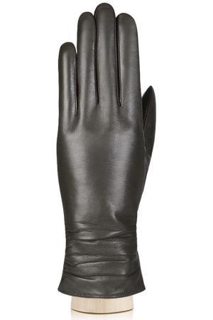 Перчатки Labbra. Цвет: оливковый, темно-коричневый