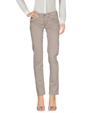 Повседневные брюки MAISON CLOCHARD. Цвет: серый