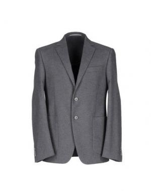 Пиджак REPORTER. Цвет: свинцово-серый