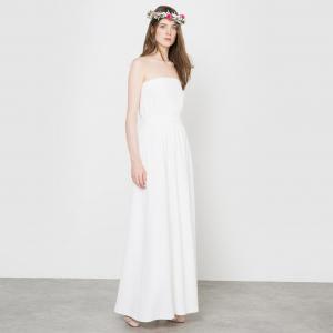 Платье свадебное длинное, форма бюстье MADEMOISELLE R. Цвет: слоновая кость