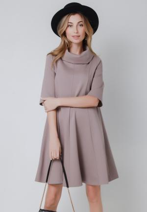 Платье Olga Skazkina. Цвет: серый