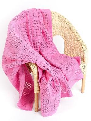 Плед ARLONI. Цвет: розовый