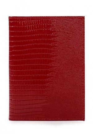 Обложка для документов Fabula. Цвет: красный