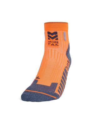 Носки Run VIM Moretan. Цвет: оранжевый
