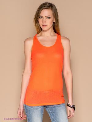Топ ICHI. Цвет: оранжевый