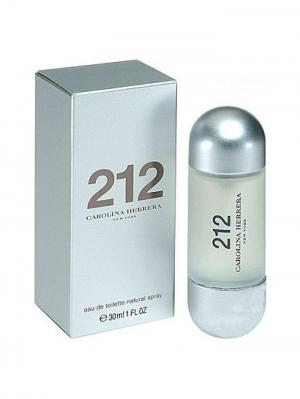 Carolina Herrera 212 lady edt 30 ml. Цвет: серебристый