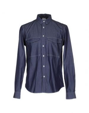Pубашка U CLOTHING. Цвет: синий