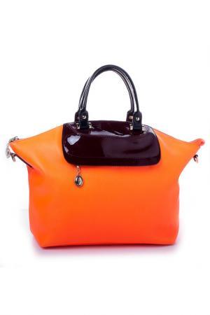 Сумка DESHI. Цвет: оранжевый