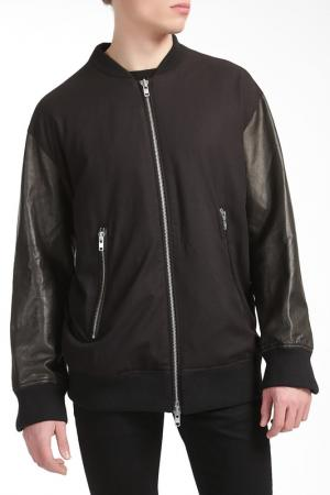 Куртка Blk Dnm. Цвет: черный