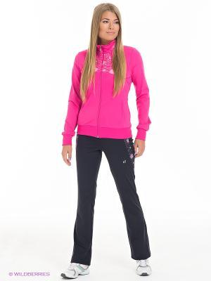 Спортивный костюм RED-N-ROCK'S. Цвет: розовый