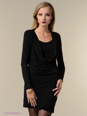 Платье Isabel de Pedro. Цвет: черный, серый